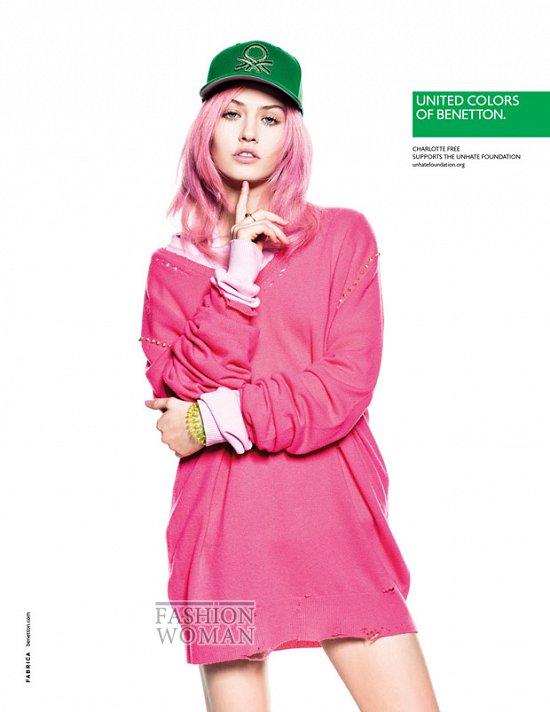 Коллекция United Colors of Benetton весна-лето 2013 фото №6