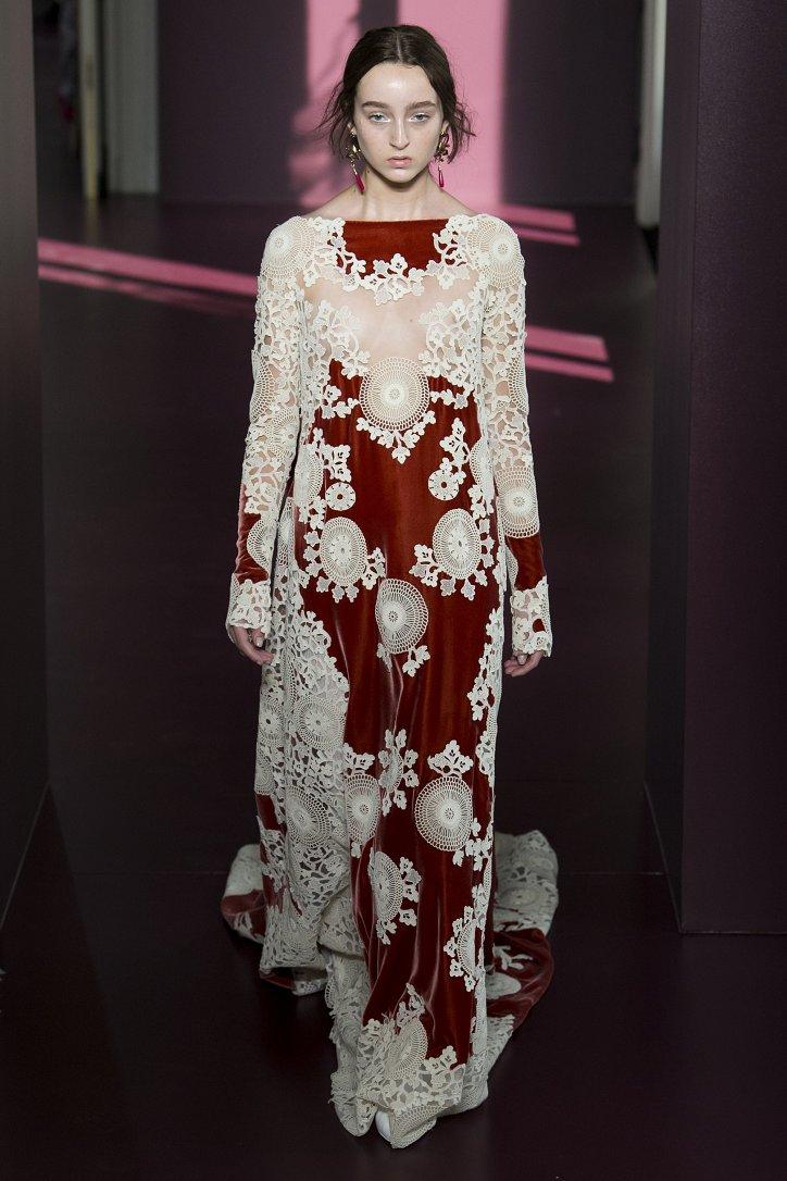 Коллекция Valentino Haute Couture осень-зима 2017-2018 фото №40