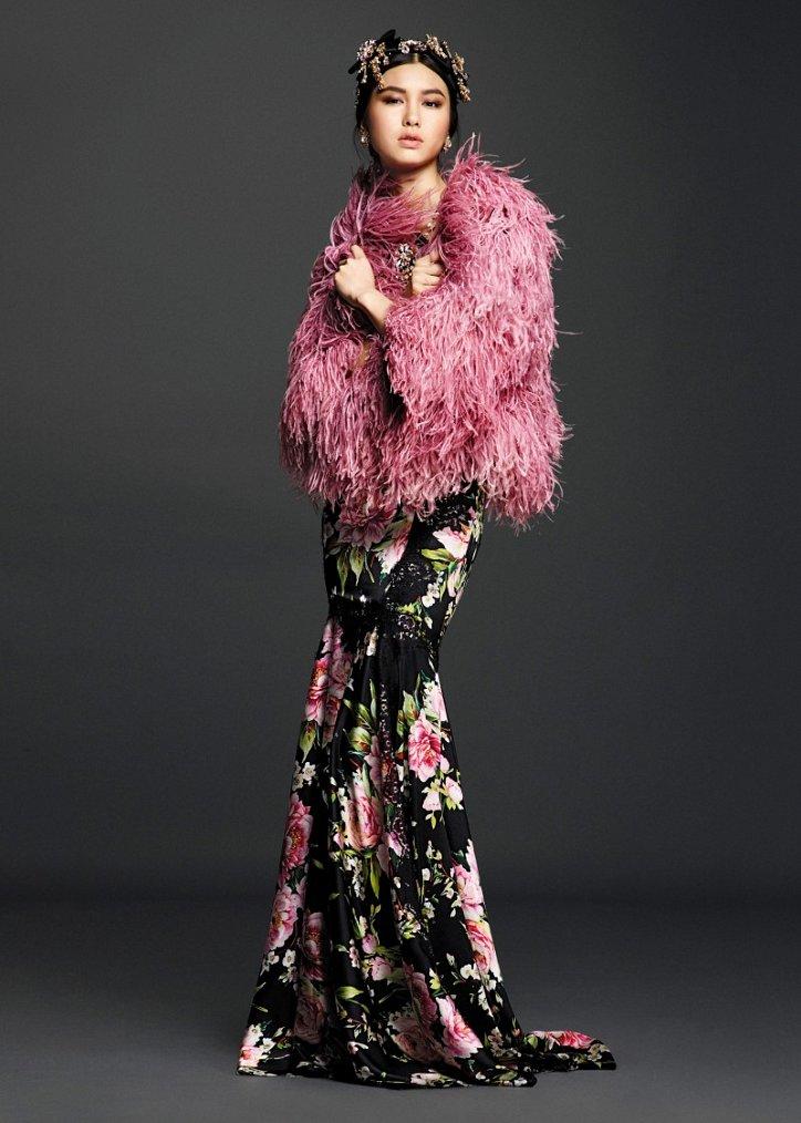 Коллекция вечерних платьев Dolce  фото №1