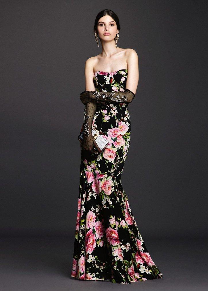 Коллекция вечерних платьев Dolce  фото №2