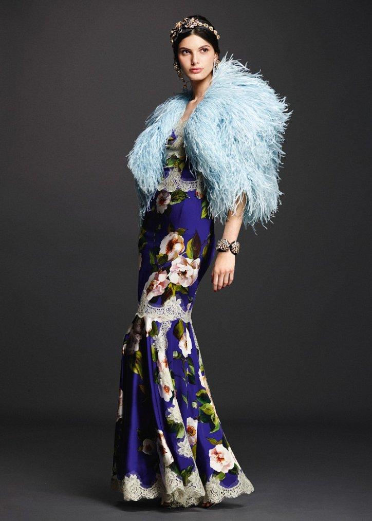 Коллекция вечерних платьев Dolce  фото №3