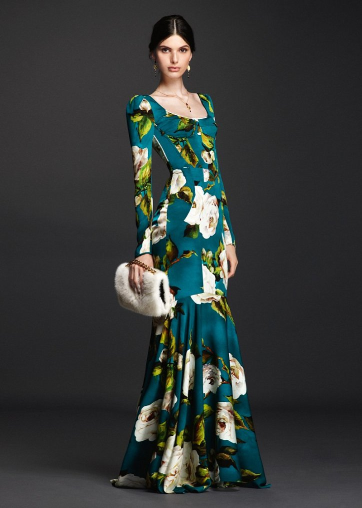 Коллекция вечерних платьев Dolce  фото №5