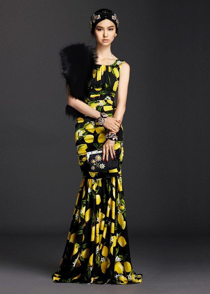 Коллекция вечерних платьев Dolce  фото №6
