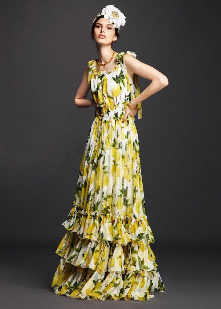 Коллекция вечерних платьев Dolce  фото №7