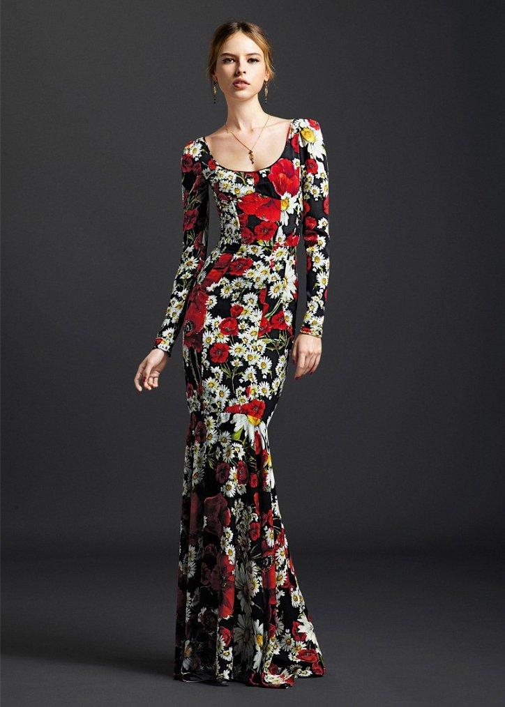 Коллекция вечерних платьев Dolce  фото №9
