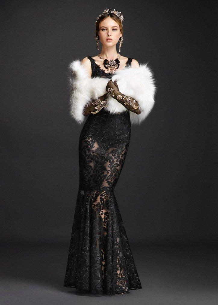Коллекция вечерних платьев Dolce  фото №10