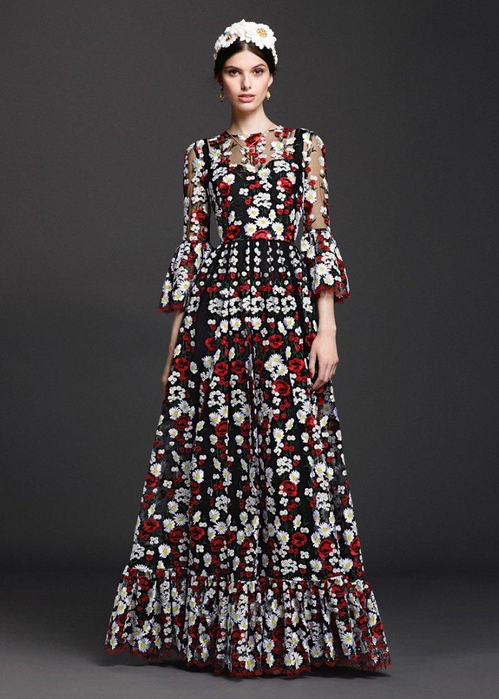 Коллекция вечерних платьев Dolce  фото №11