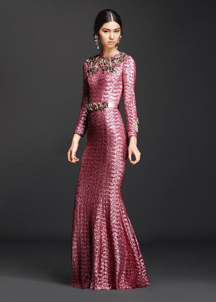 Коллекция вечерних платьев Dolce  фото №14