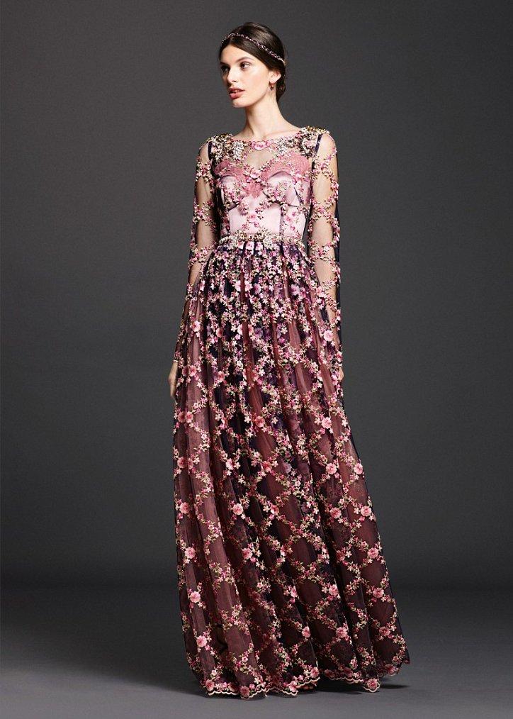 Коллекция вечерних платьев Dolce  фото №15