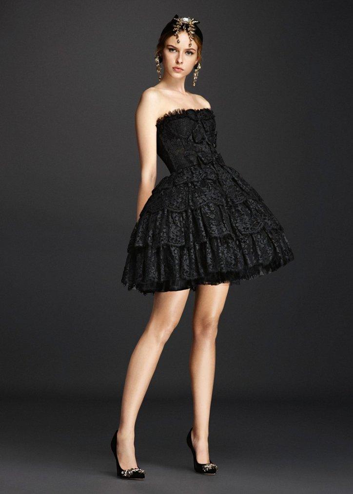 Коллекция вечерних платьев Dolce  фото №16