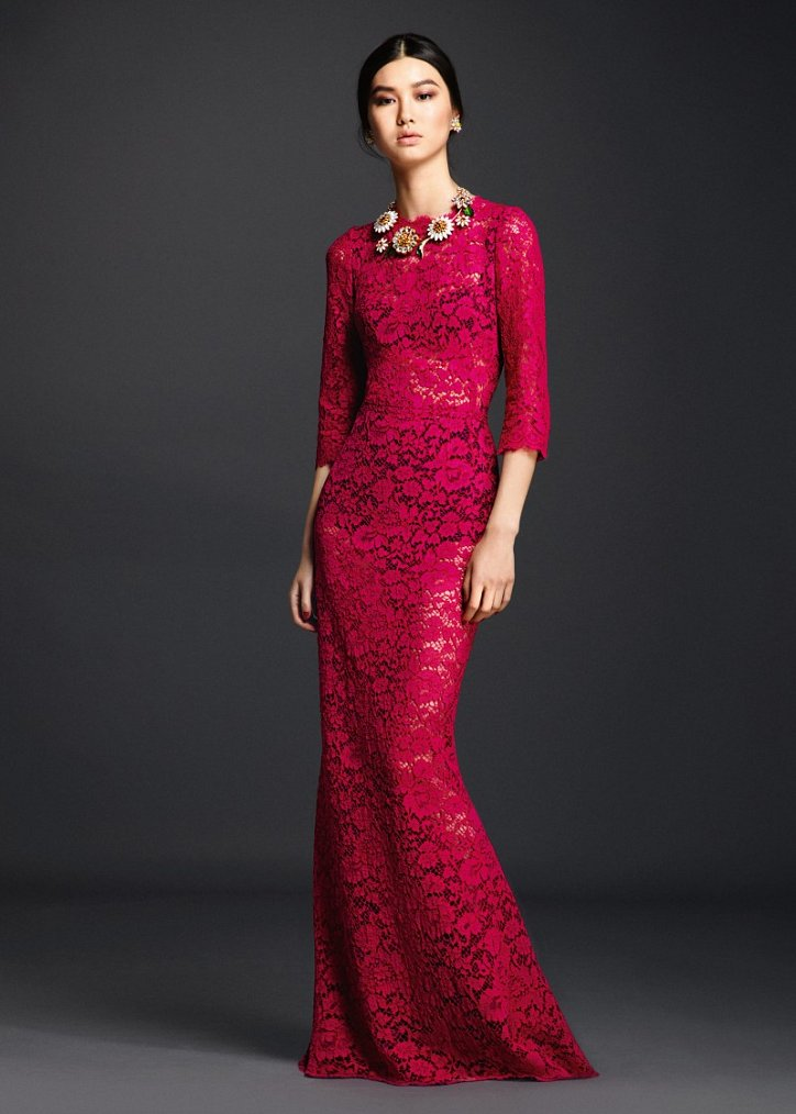 Коллекция вечерних платьев Dolce  фото №17