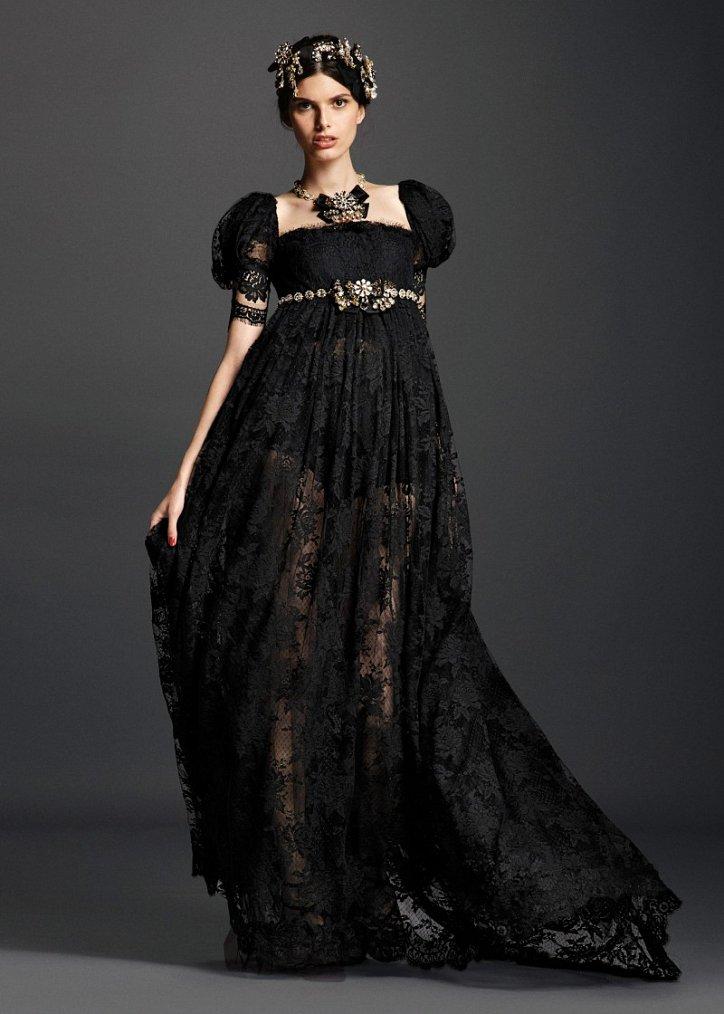 Коллекция вечерних платьев Dolce  фото №18