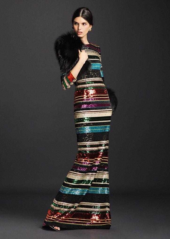 Коллекция вечерних платьев Dolce  фото №19