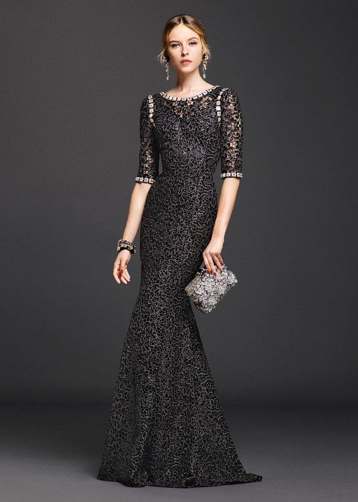 Коллекция вечерних платьев Dolce  фото №20
