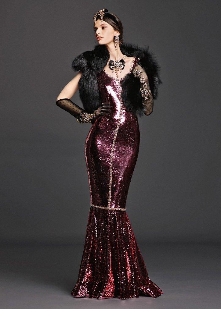 Коллекция вечерних платьев Dolce  фото №21