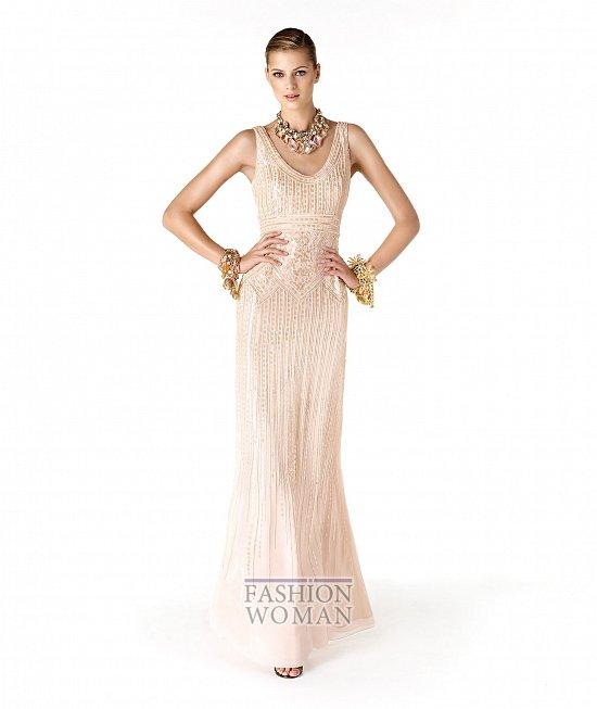 Коллекция вечерних платьев La Sposa 2014 фото №10