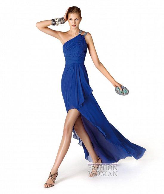 Коллекция вечерних платьев La Sposa 2014 фото №20