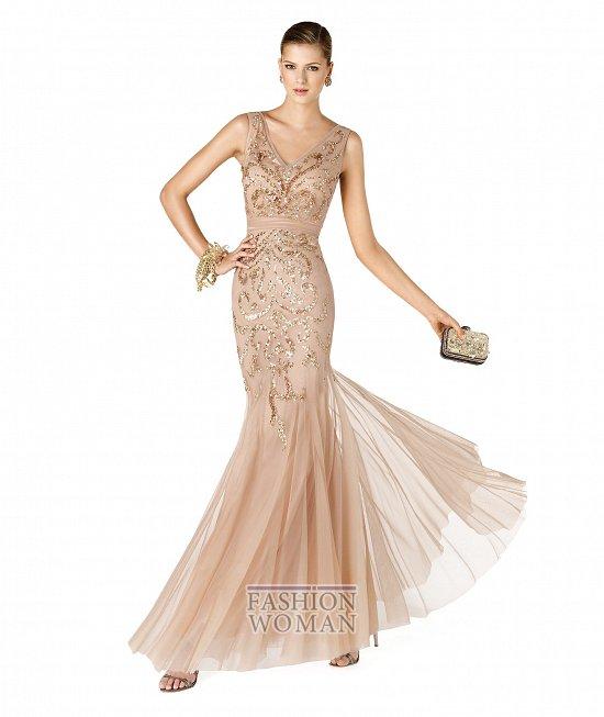 Коллекция вечерних платьев La Sposa 2014 фото №38