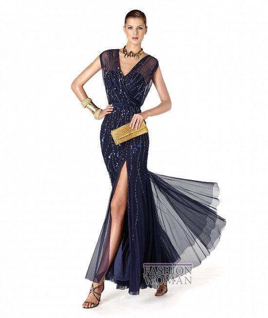 Коллекция вечерних платьев La Sposa 2014 фото №40