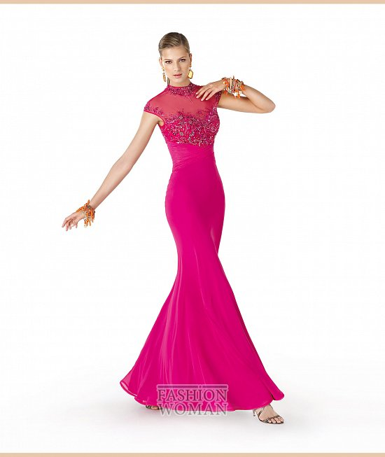 Коллекция вечерних платьев La Sposa 2014 фото №68