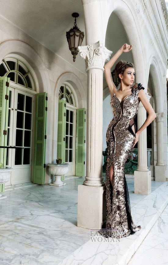 Вечерние платья Mireille Dagher весна-лето 2013