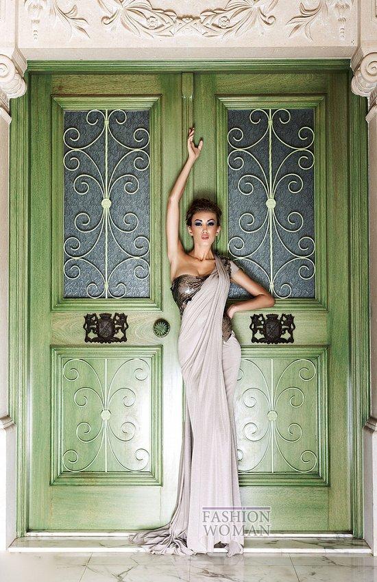 Коллекция вечерних платьев Mireille Dagher весна-лето 2013 фото №14