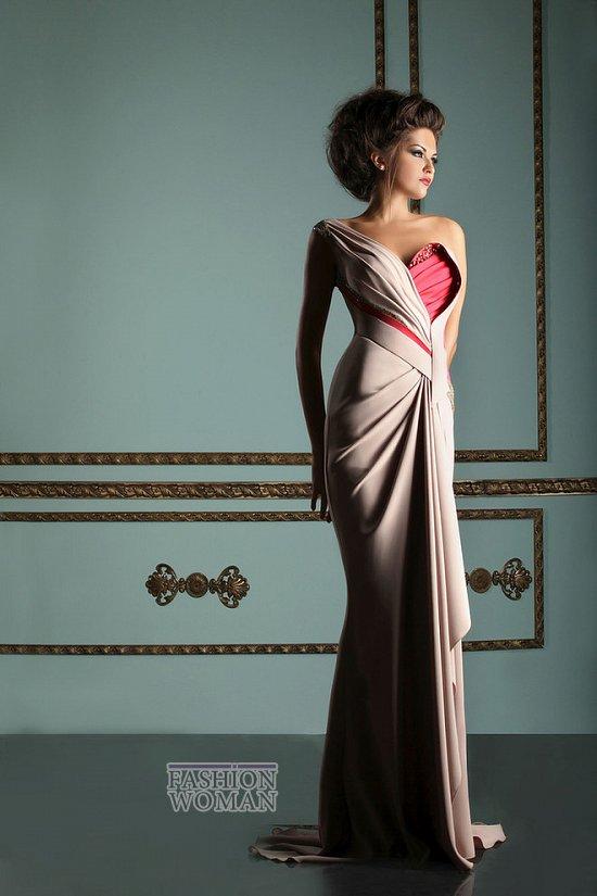 Коллекция вечерних платьев Mireille Dagher весна-лето 2013 фото №16