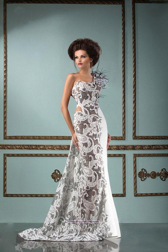 Коллекция вечерних платьев Mireille Dagher весна-лето 2013 фото №20