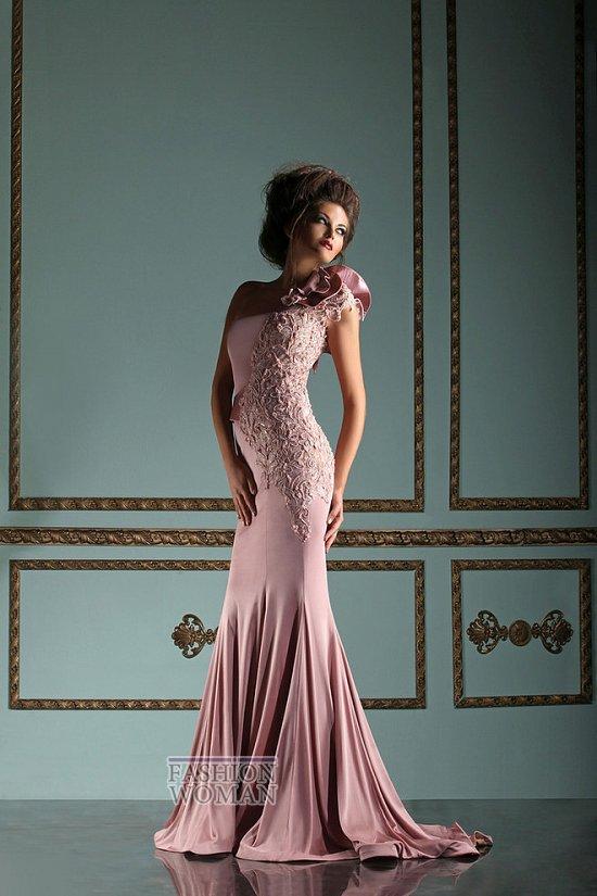 Коллекция вечерних платьев Mireille Dagher весна-лето 2013 фото №32