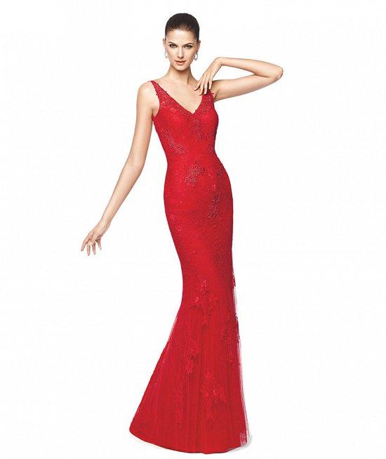 Коллекция вечерних платьев Pronovias 2015 фото №2