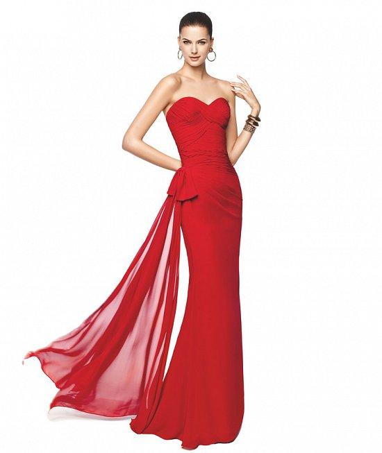 Коллекция вечерних платьев Pronovias 2015 фото №5