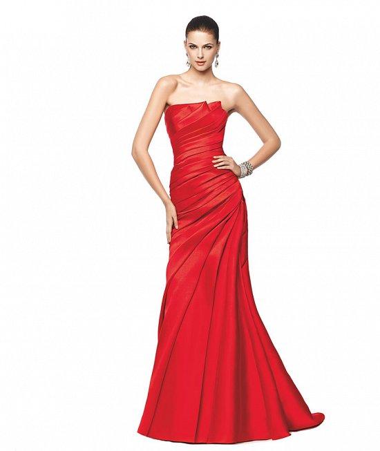 Коллекция вечерних платьев Pronovias 2015 фото №7