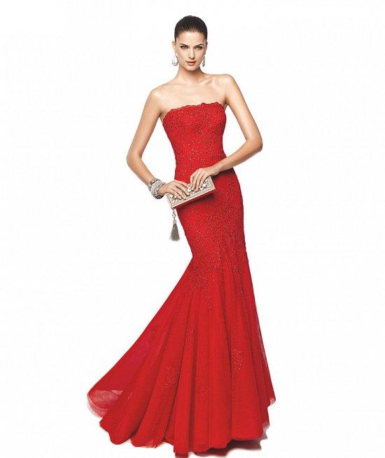 Коллекция вечерних платьев Pronovias 2015 фото №8