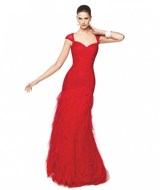 Коллекция вечерних платьев Pronovias 2015 фото №10