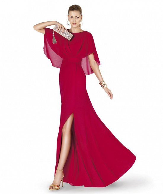 Коллекция вечерних платьев Pronovias 2015 фото №11