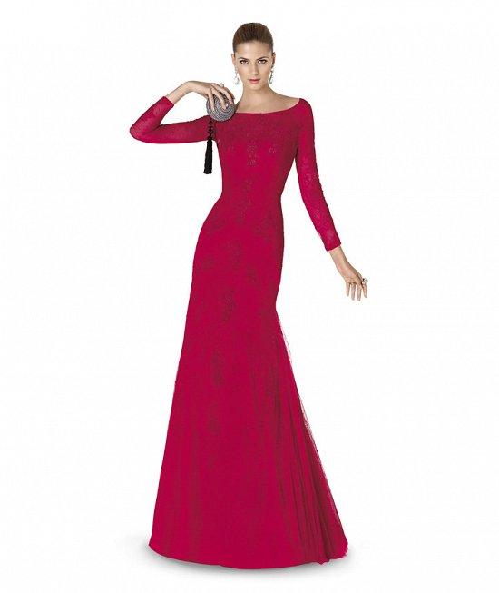 Коллекция вечерних платьев Pronovias 2015 фото №12
