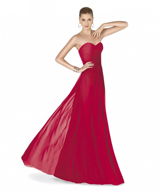 Коллекция вечерних платьев Pronovias 2015 фото №15