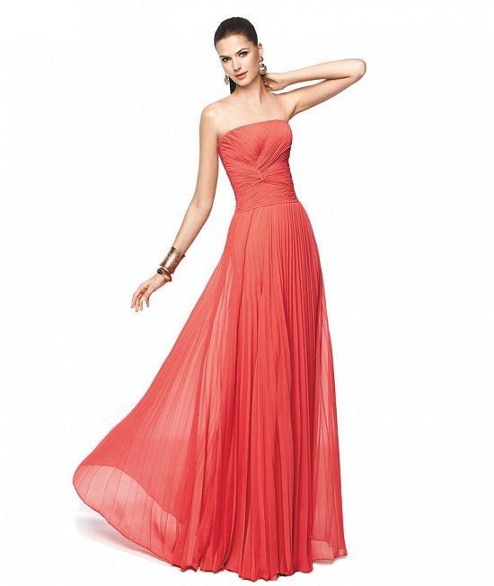 Коллекция вечерних платьев Pronovias 2015 фото №16
