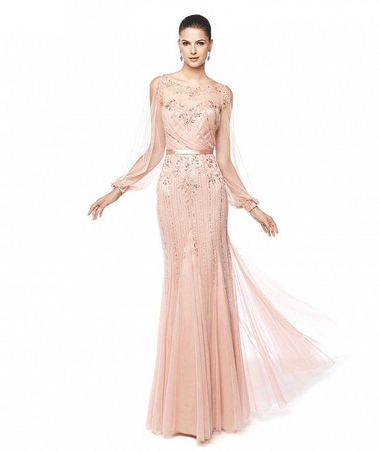 Коллекция вечерних платьев Pronovias 2015 фото №17