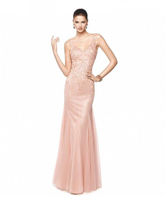Коллекция вечерних платьев Pronovias 2015 фото №18