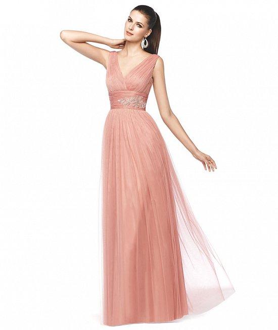 Коллекция вечерних платьев Pronovias 2015 фото №21