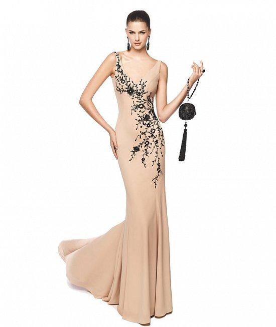 Коллекция вечерних платьев Pronovias 2015 фото №23