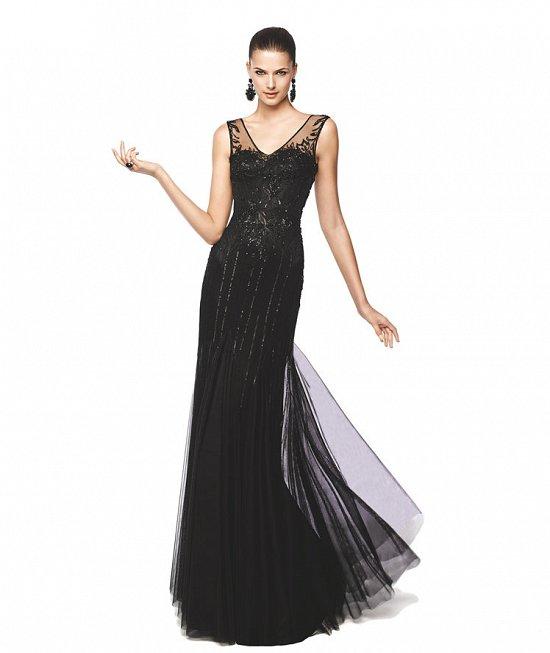 Коллекция вечерних платьев Pronovias 2015 фото №26