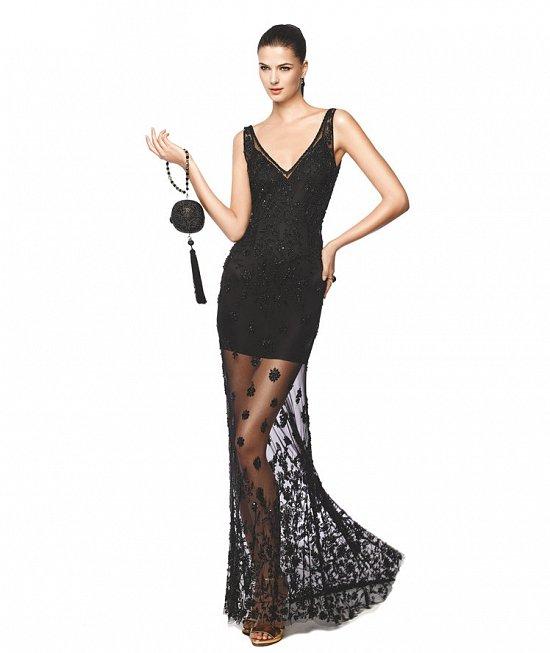 Коллекция вечерних платьев Pronovias 2015 фото №28