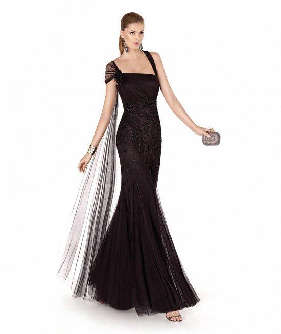 Коллекция вечерних платьев Pronovias 2015 фото №29