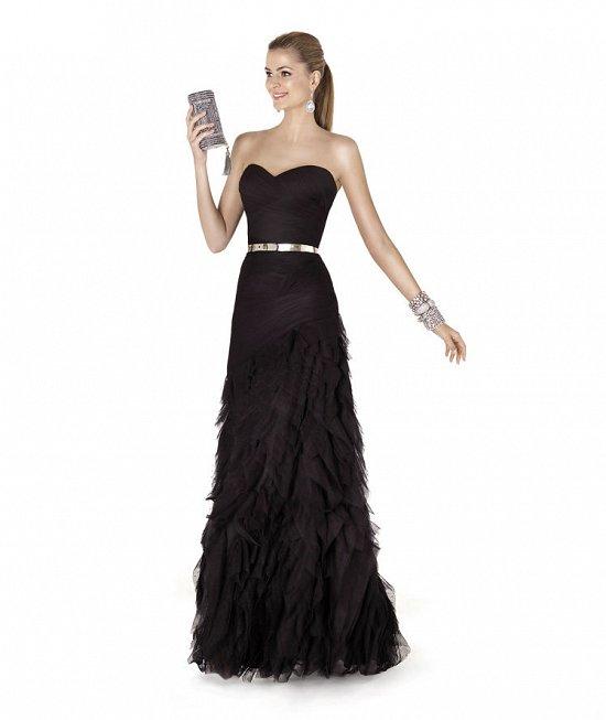 Коллекция вечерних платьев Pronovias 2015 фото №30