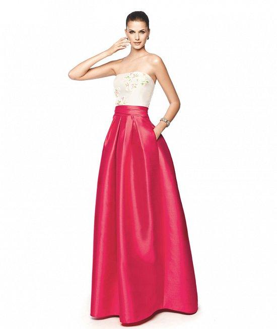 Коллекция вечерних платьев Pronovias 2015 фото №31