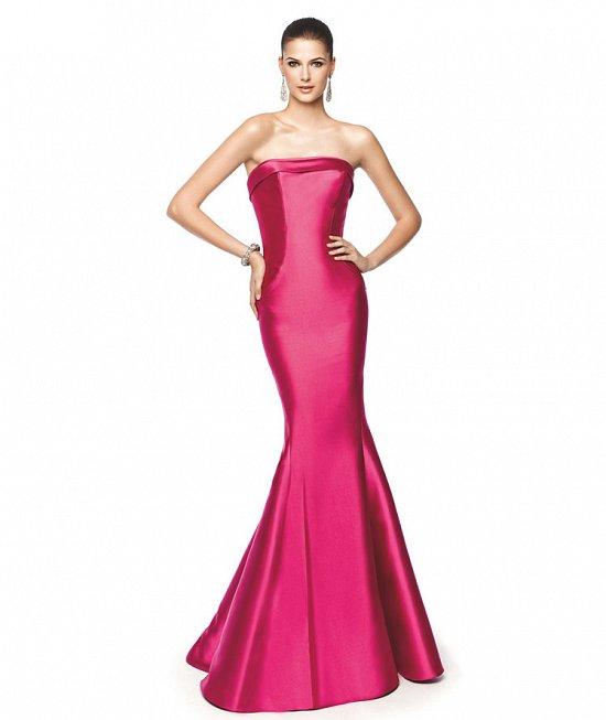 Коллекция вечерних платьев Pronovias 2015 фото №32