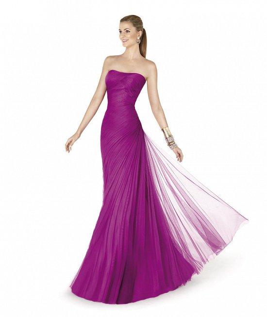 Коллекция вечерних платьев Pronovias 2015 фото №33