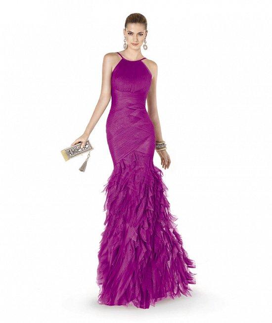 Коллекция вечерних платьев Pronovias 2015 фото №34